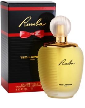 Ted Lapidus Rumba eau de toilette pour femme 100 ml