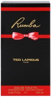 Ted Lapidus Rumba Eau de Toilette voor Vrouwen  100 ml