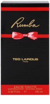 Ted Lapidus Rumba woda toaletowa dla kobiet 100 ml