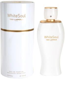 Ted Lapidus White Soul eau de parfum para mujer 100 ml