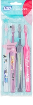 TePe Kids παιδικές οδοντόβουρτσες έξτρα μαλακές 4 τεμ.