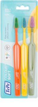 TePe Colour Soft Toothbrushes, 3 pcs