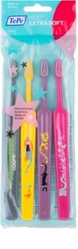 TePe Kids Extra Soft Kinder Tandenborstels 4st.