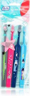 TePe Kids escovas de dentes para crianças extra macia 4 pcs