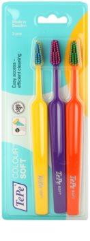 TePe Colour Soft зубні щітки 3 шт