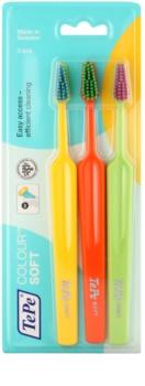 TePe Colour Soft cepillo de dientes 3 uds
