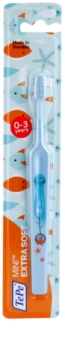 TePe Mini Illustration cepillo de dientes para niños con cabezal estrecho y pequeño extra suave