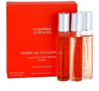 Terry de Gunzburg Lumiere d'Epices Eau de Parfum für Damen 3 x 8,5 ml Dreifach-Nachfüllpackung mit Zerstäuber