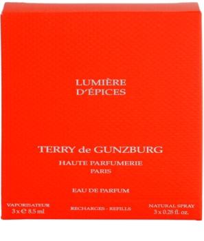 Terry de Gunzburg Lumiere d'Epices Parfumovaná voda pre ženy 3 x 8,5 ml (3x náplň s rozprašovačom)