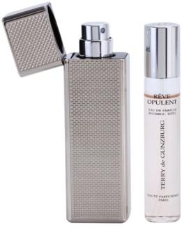 Terry de Gunzburg Reve Opulent parfémovaná voda pro ženy 2 x 8,5 ml (2x náplň s rozprašovačem) + kovové pouzdro
