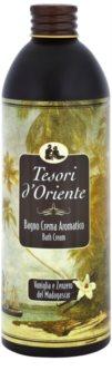 Tesori d'Oriente Vanilla & Ginger of Madagaskar koupelový přípravek unisex 500 ml