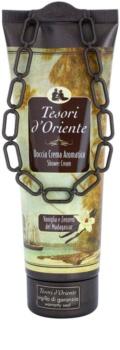 Tesori d'Oriente Vanilla & Ginger of Madagaskar gel douche pour femme 250 ml