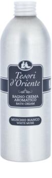 Tesori d'Oriente White Musk Badeschaum für Damen 500 ml