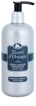 Tesori d'Oriente White Musk parfémované mýdlo pro ženy 300 ml