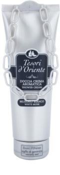 Tesori d'Oriente White Musk κρέμα για ντους για γυναίκες 250 μλ