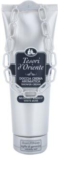 Tesori d'Oriente White Musk crema doccia per donna 250 ml