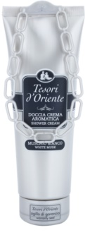 Tesori d'Oriente White Musk sprchový krém pro ženy 250 ml