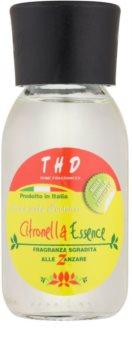 THD Home Fragrances Citronella Essence Aroma Diffuser mit Nachfüllung 100 ml