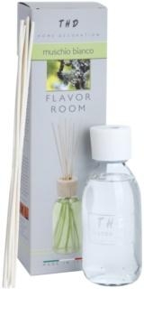 THD Diffusore THD Muschio Bianco diffuseur d'huiles essentielles avec recharge 200 ml