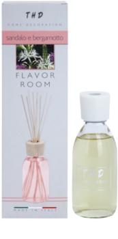THD Diffusore THD Sandalo e Bergamotto aroma difusor com recarga 200 ml
