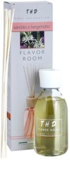 THD Diffusore THD Sandalo e Bergamotto Aroma Diffuser With Filling 200 ml