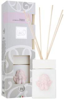 THD Diffusore Baby Rosa Fragola & Frutti Di Bosco aroma diffúzor töltelékkel 200 ml