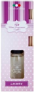 THD Home Fragrances Lavanda aroma difusor com recarga 100 ml
