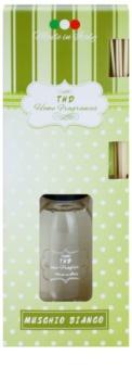 THD Home Fragrances Muschio Bianco aróma difúzor s náplňou 100 ml
