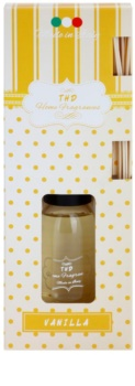 THD Home Fragrances Vanilla aroma diffúzor töltelékkel 100 ml