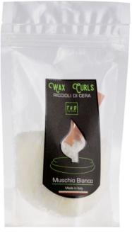 THD Wax Curls Muschio Bianco tartelette en cire 100 g