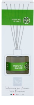 THD Platinum Collection Muschio Bianco aroma Diffuser met navulling 100 ml