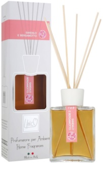THD Platinum Collection Sandalo E Bergamotto aroma difusor com recarga 200 ml