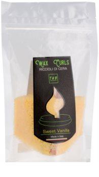 THD Wax Curls Sweet Vanilla ceară pentru aromatizator 100 g