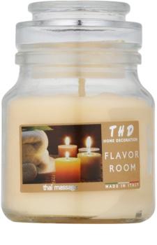 THD Candela Profumata Thai Massage Scented Candle 140 g