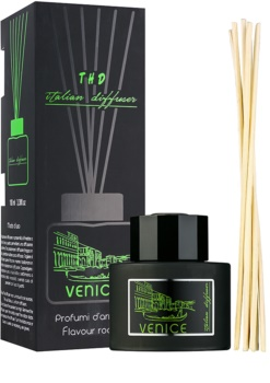 THD Italian Diffuser Venice diffuseur d'huiles essentielles avec recharge 100 ml