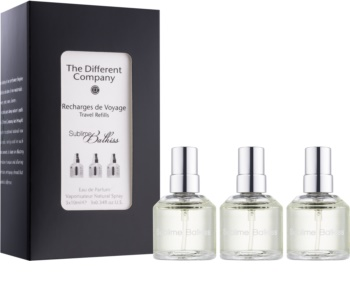 The Different Company Sublime Balkiss eau de parfum unisex 3 x 10 ml (3x utántöltő szórófejjel)