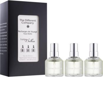 The Different Company Sublime Balkiss parfémovaná voda unisex 3 x 10 ml (3x náplň s rozprašovačem)