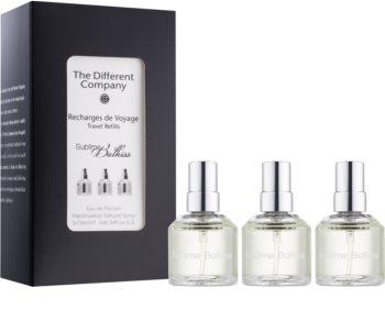 The Different Company Sublime Balkiss woda perfumowana unisex 3 x 10 ml (3x uzupełnienie z atomizerem)