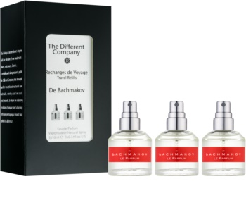 The Different Company De Bachmakov parfémovaná voda unisex 3 x 10 ml (3x náplň s rozprašovačem)