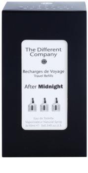 The Different Company After Midnight Eau de Toilette unisex 3 x 10 ml Dreifach-Nachfüllpackung mit Zerstäuber