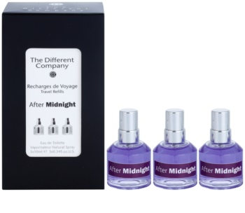 The Different Company After Midnight Eau de Toilette unisex 3 x 10 ml Dreifach-Nachfüllpackung mit Zerstäuber