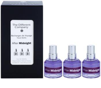 The Different Company After Midnight toaletná voda unisex 3 x 10 ml (3x náplň s rozprašovačom)
