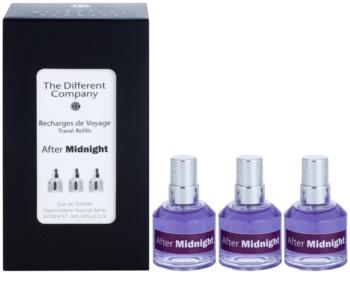 The Different Company After Midnight toaletní voda unisex 3 x 10 ml (3x náplň s rozprašovačem)