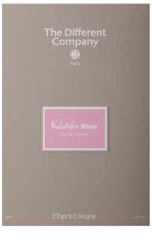 The Different Company L'Esprit Cologne Kâshân Rose eau de toilette pentru femei 100 ml reincarcabil