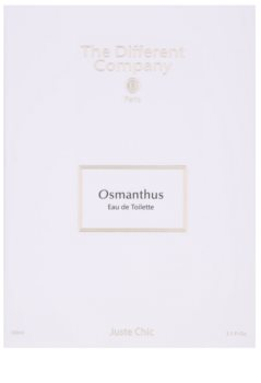 The Different Company Osmanthus eau de toilette per donna 100 ml ricaricabile