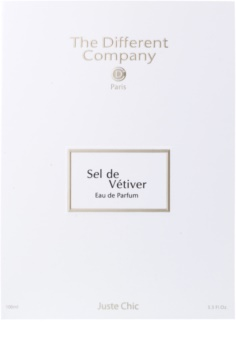 The Different Company Sel de Vetiver Eau de Parfum unisex 100 ml