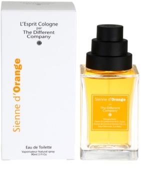 The Different Company Sienne d´Orange Eau de Toilette unisex 90 ml