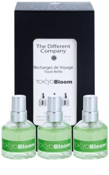 The Different Company Tokyo Bloom Eau de Toilette unisex 3 x 10 ml Dreifach-Nachfüllpackung mit Zerstäuber