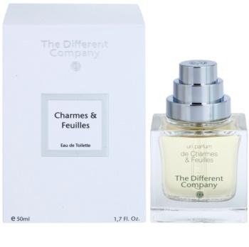 The Different Company Un Parfum De Charmes & Feuilles toaletní voda unisex 50 ml