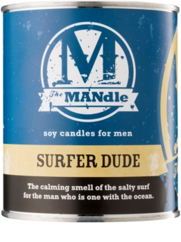 The MANdle Surfer Dude ароматна свещ  425 гр.